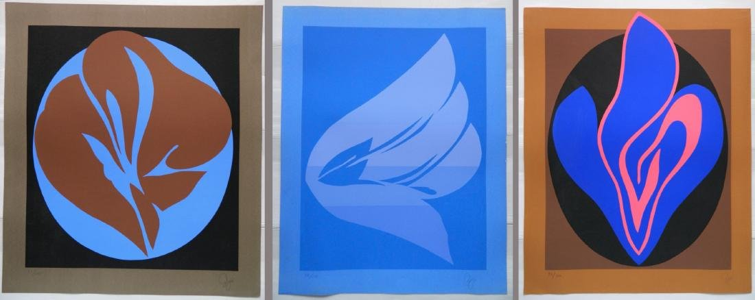 3 Jack Youngerman silkscreens