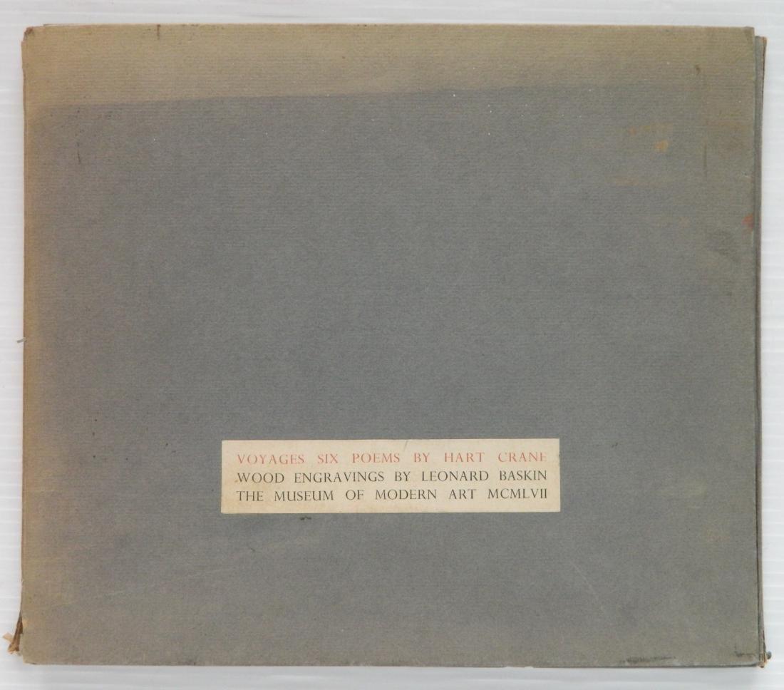 Crane- Voyages Six Poems, L. Baskin illu.