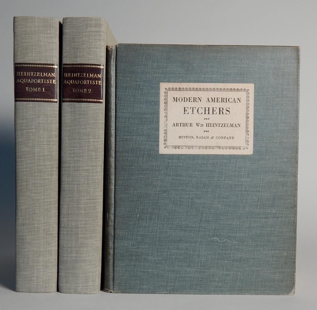 3 Books on Arthur Heintzelman