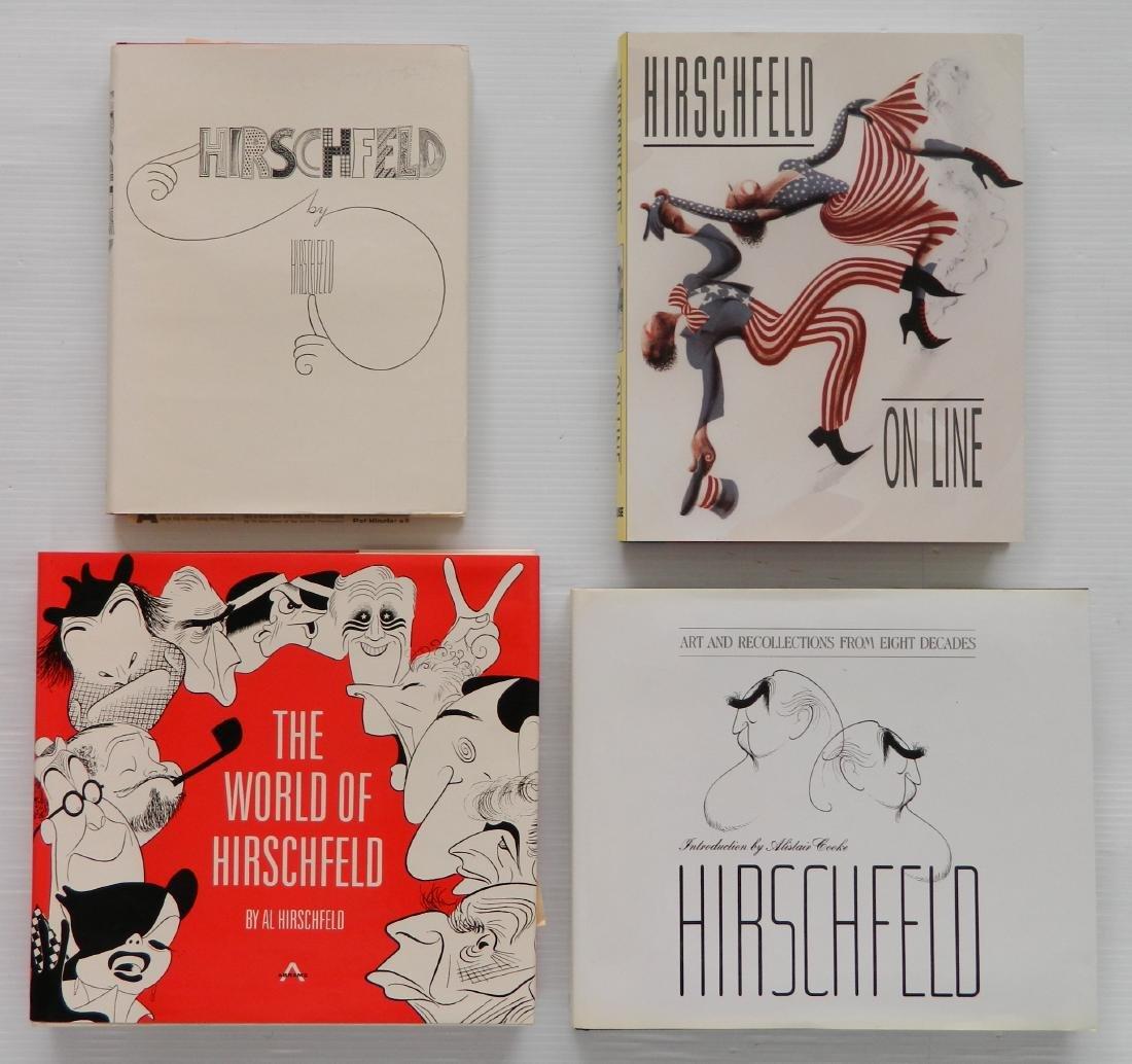 4 Books by Al Hirschfeld