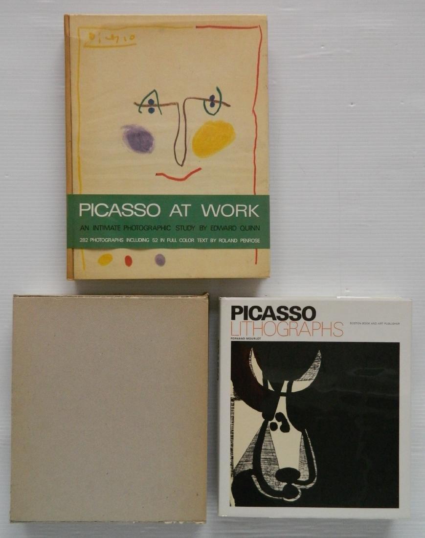 2 Books on Pablo Picasso
