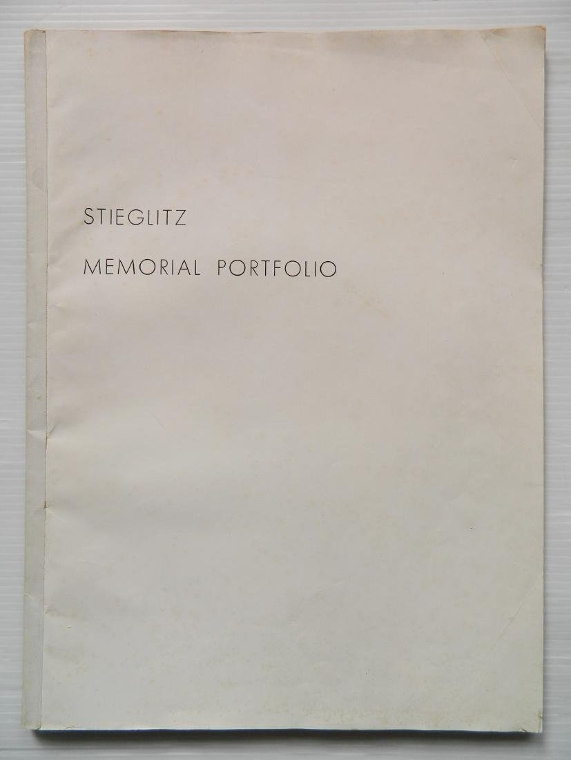 Stieglitz - Stieglitz Memorial Portfolio 1864-1946 - 2