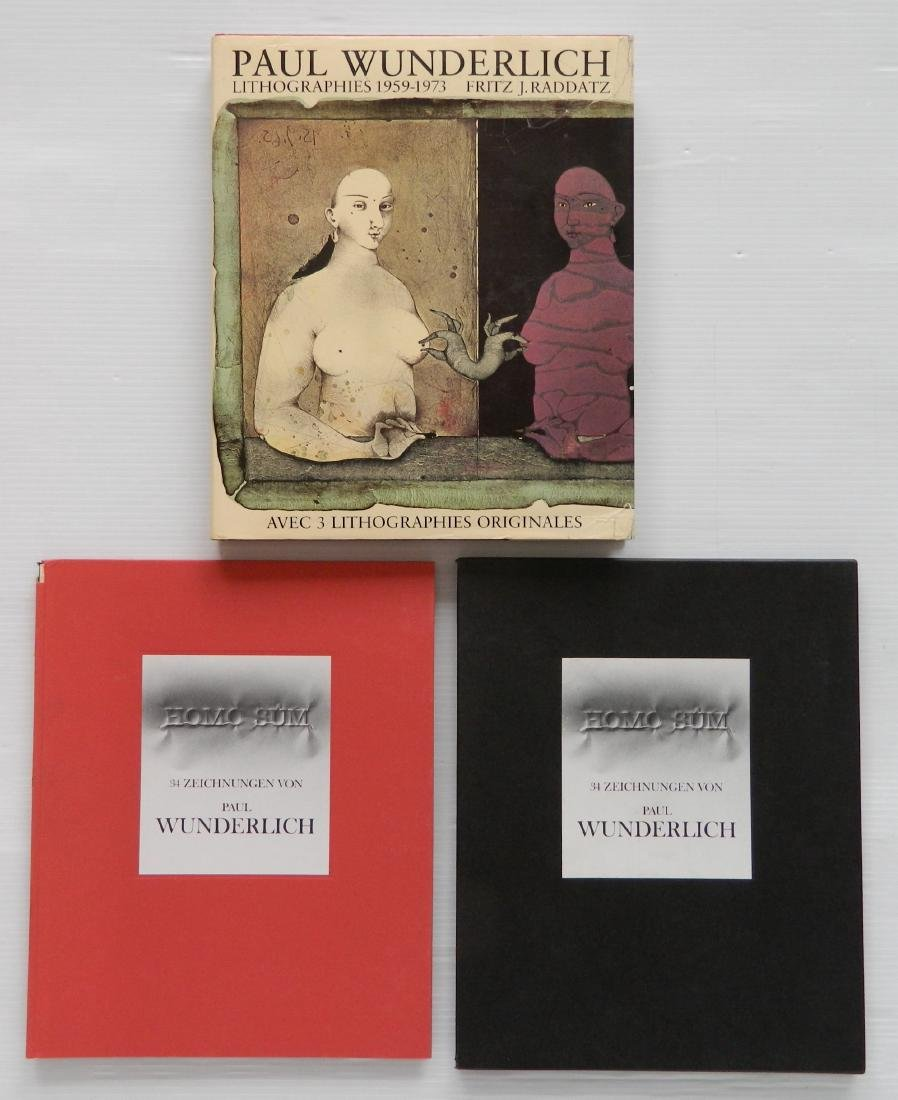 2 Books on Paul Wunderlich