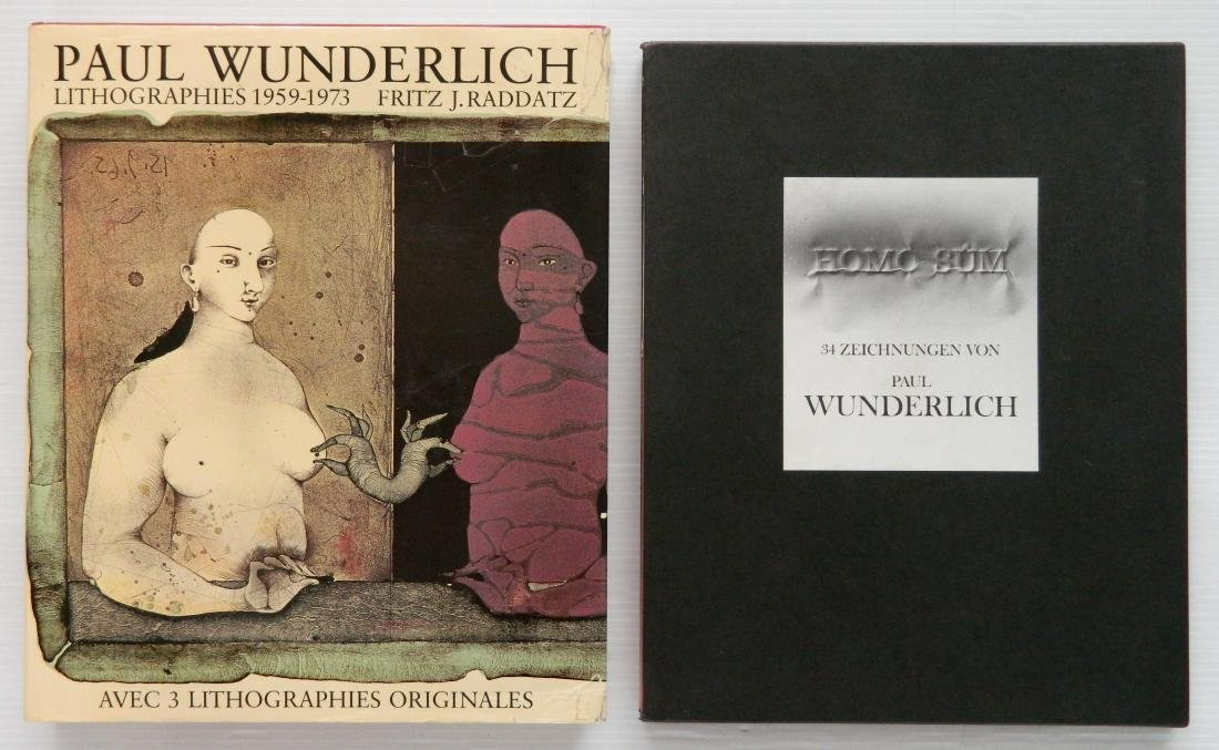2 Books on Paul Wunderlich - 2