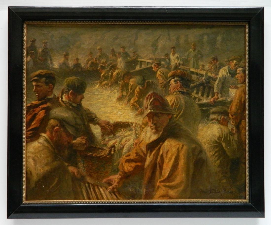 Friedrich Raupp oil