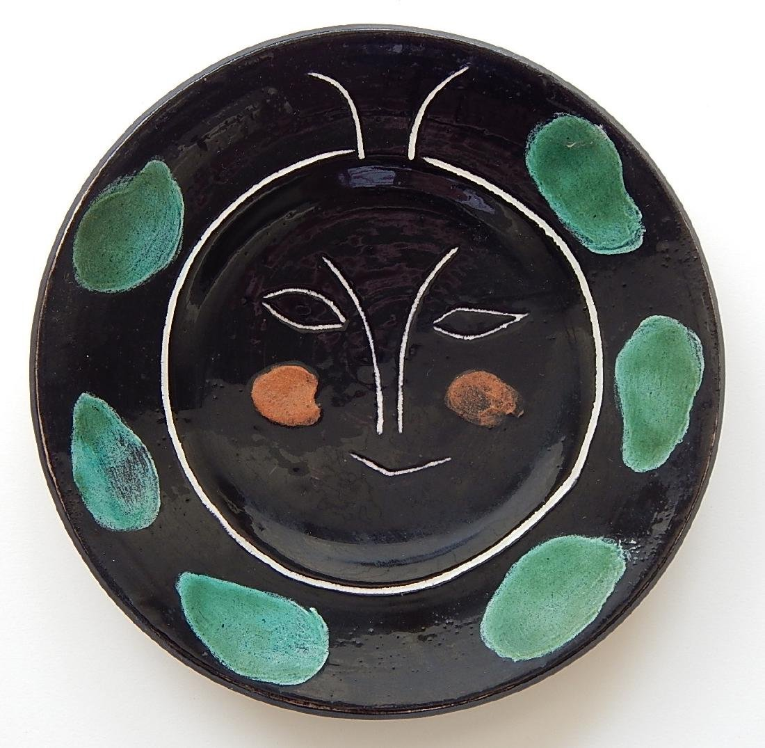 Pablo Picasso earthenware plate