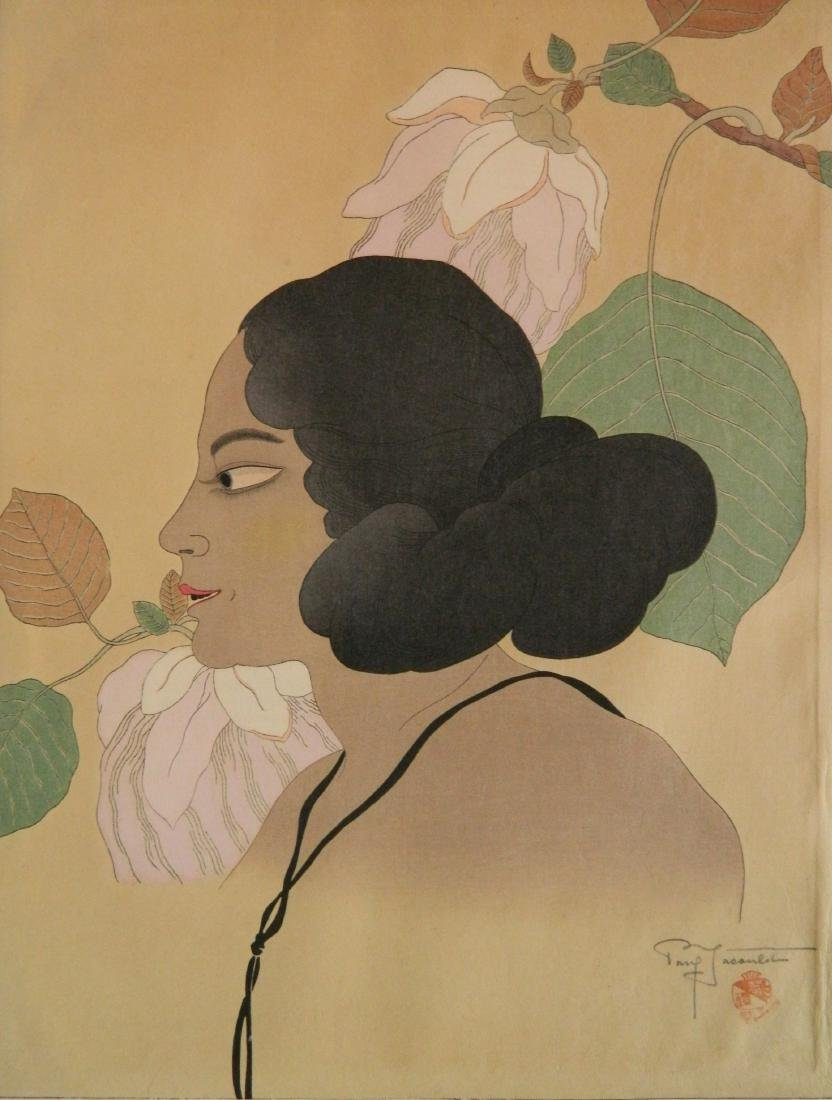 Paul Jacoulet woodblock