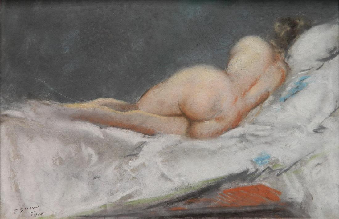 Everett Shinn pastel