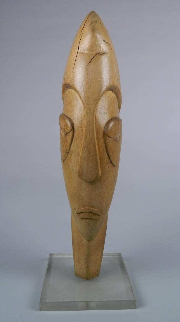 Walter Ripke wood sculpture