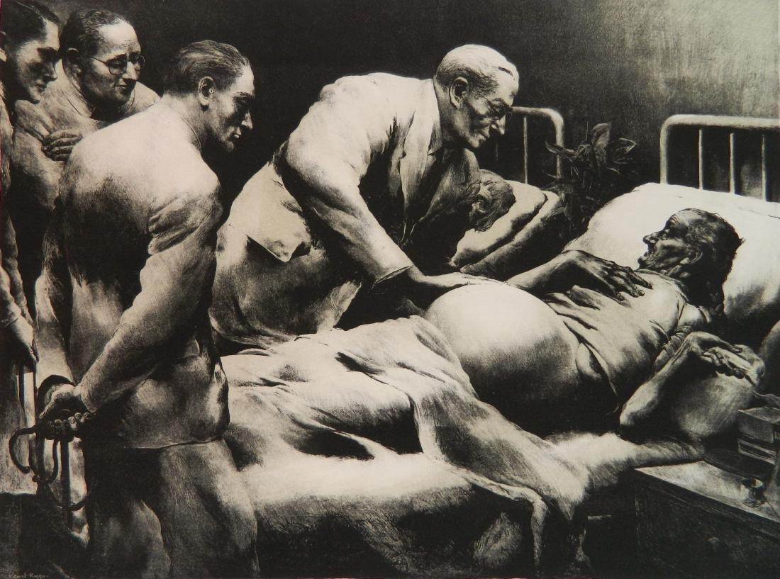 Robert Riggs lithograph