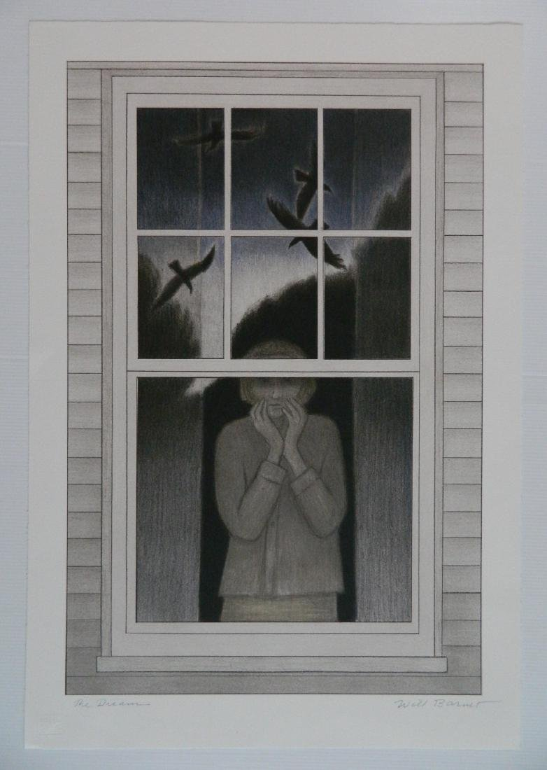 Will Barnet lithograph