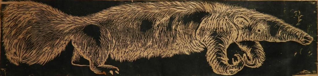 Jim Dine woodcut
