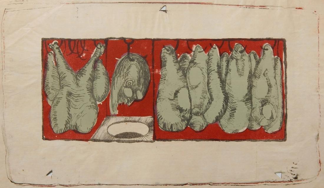 Jim Dine lithograph