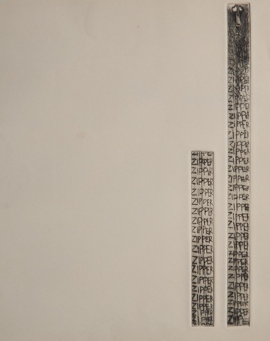 Jim Dine etching