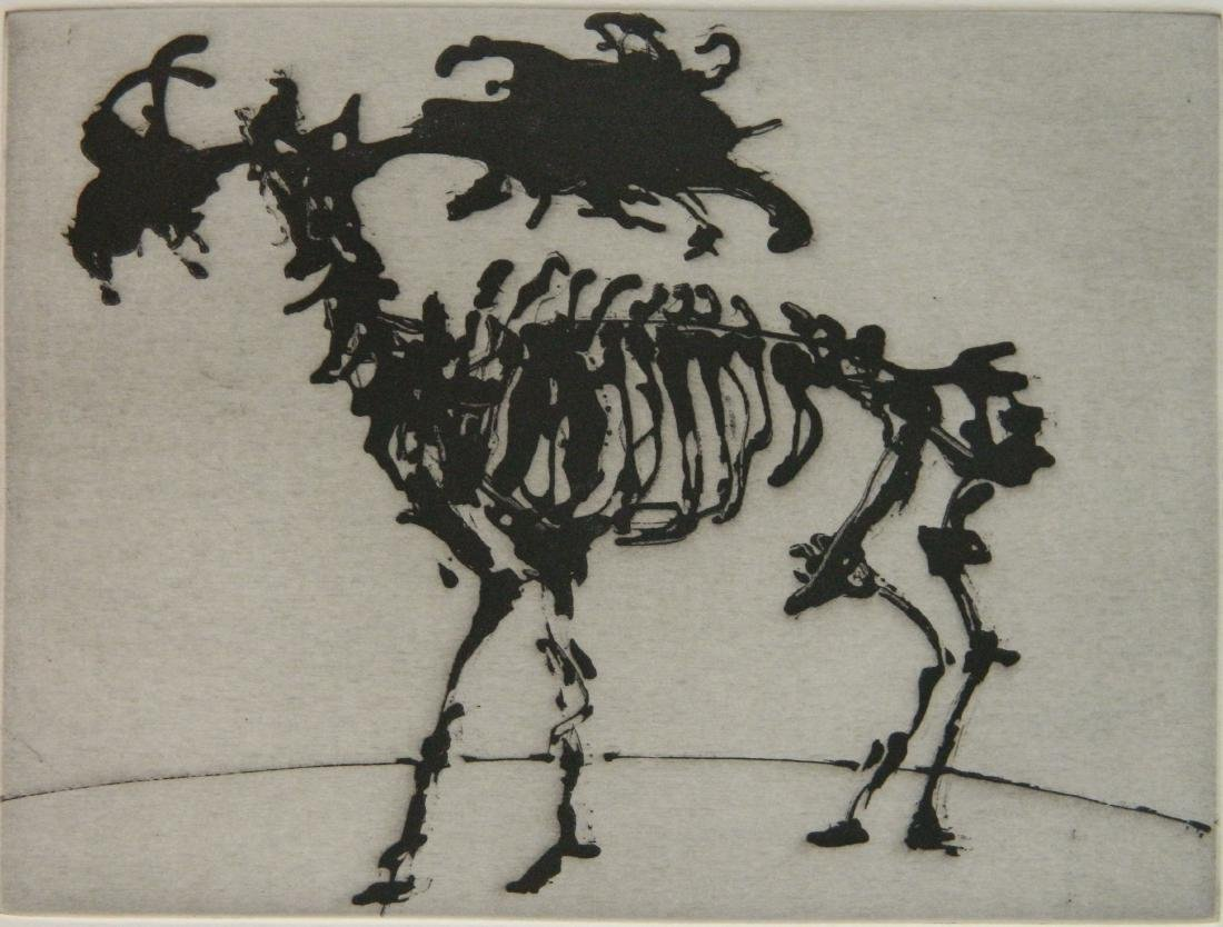 William Kentridge intaglio