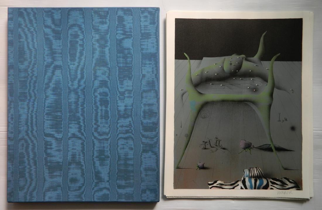 Paul Wunderlich 10 lithographs