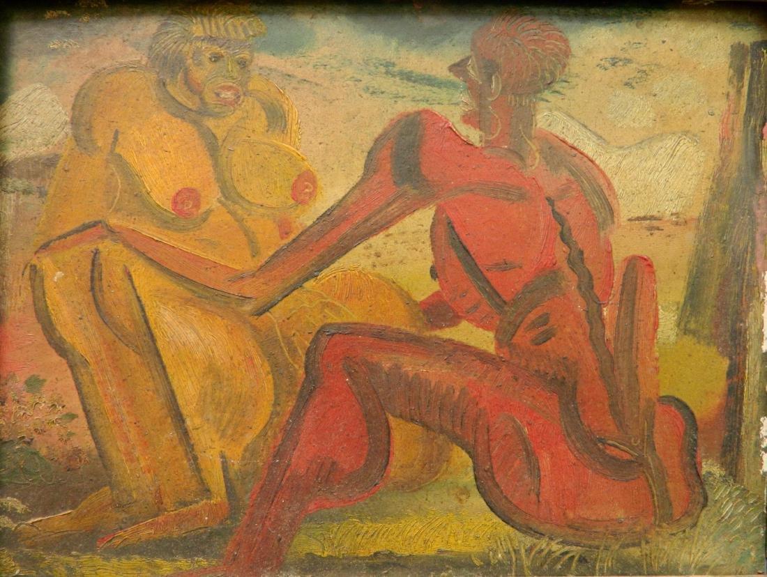 Paul B. Travis oil