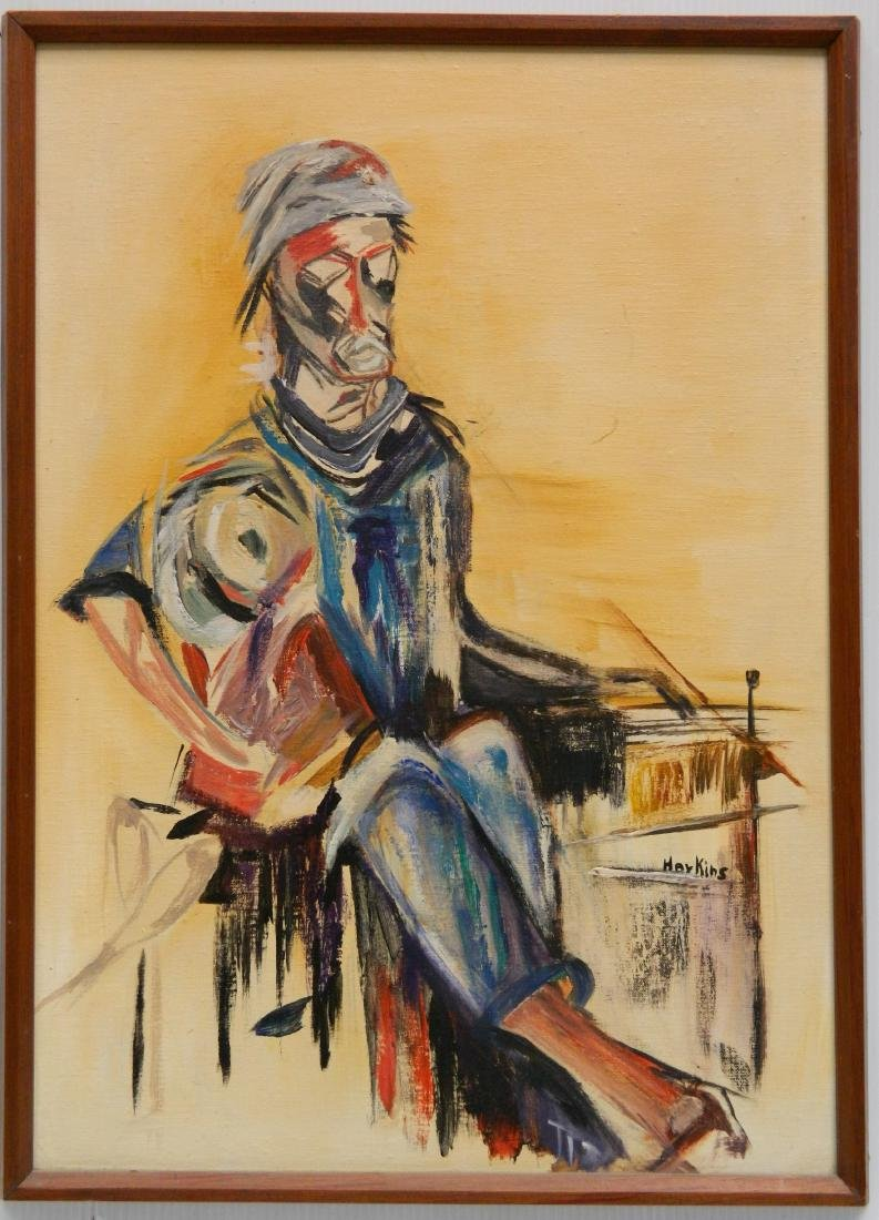 Dorothy Harkins oil