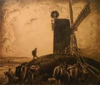 Frank Brangwyn etching