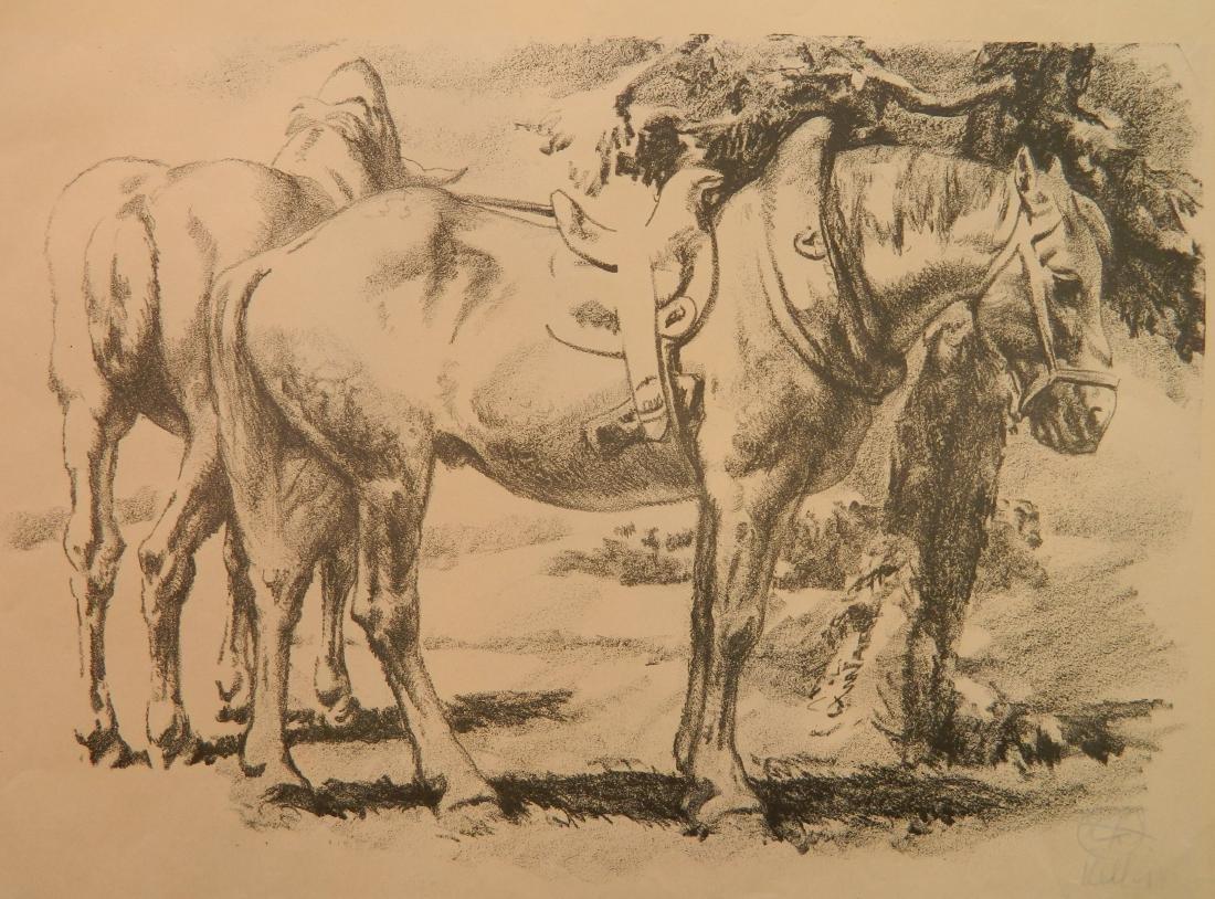 Henry Keller lithograph
