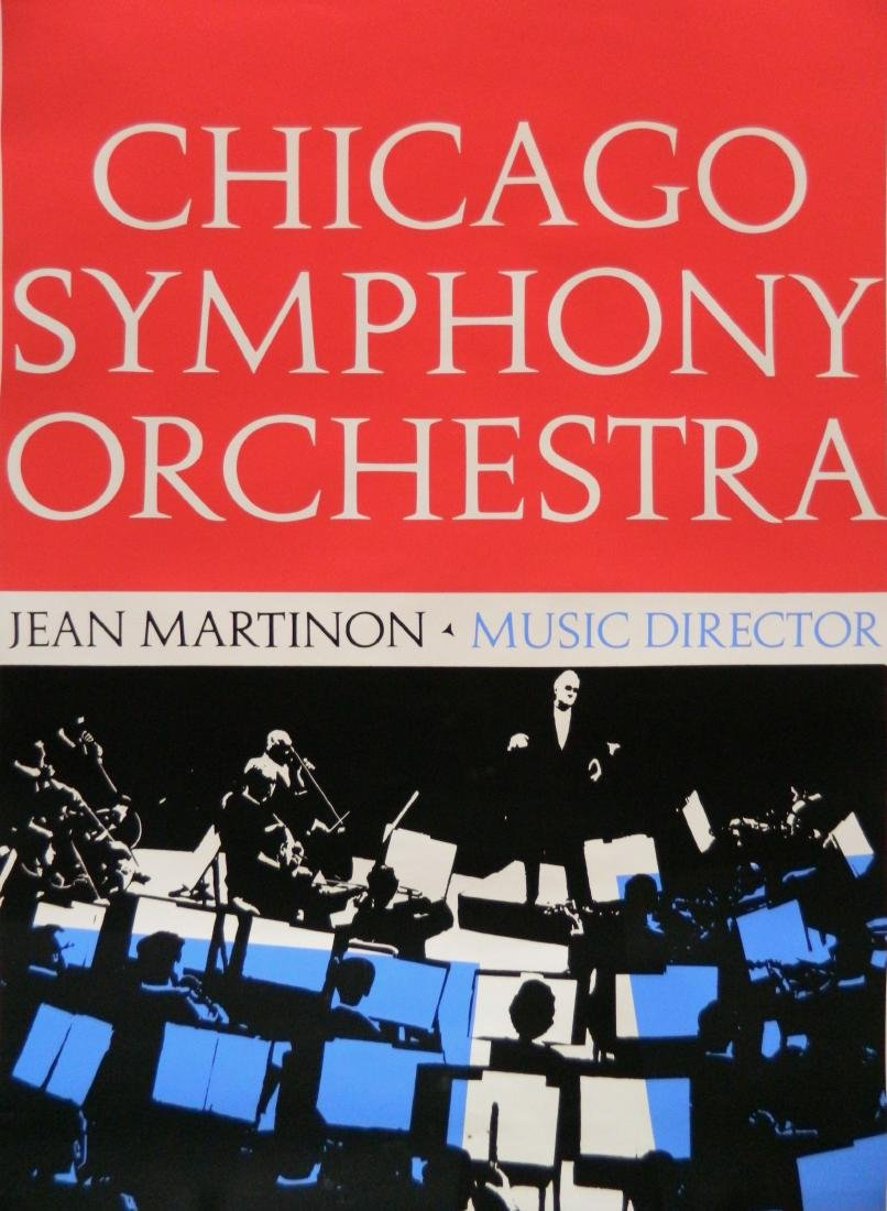 Chicago Symphony Orchestra poster