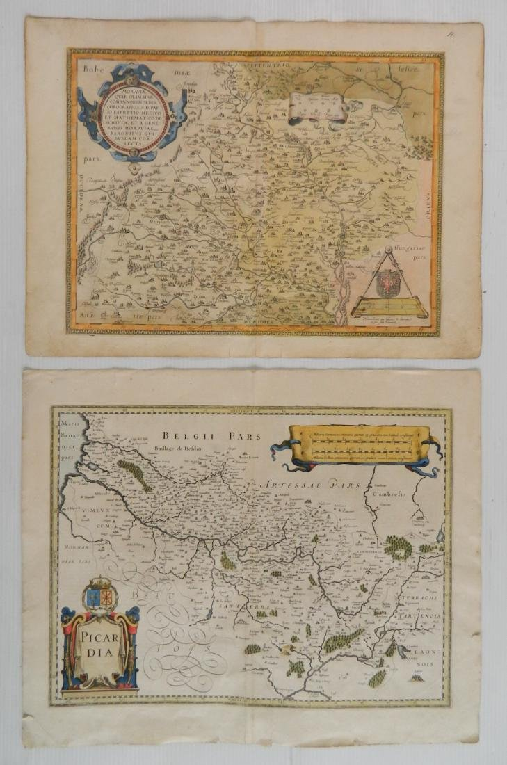 2 Maps on the Interior of France