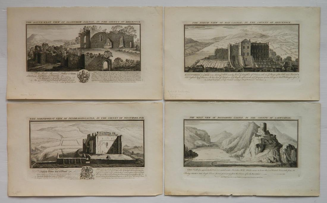 Samuel and Nathaniel Buck's Views of Castles set