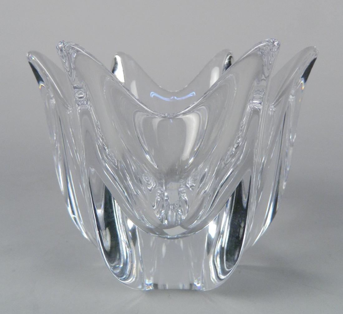 Orrefors crystal Belle bowl, Swedish