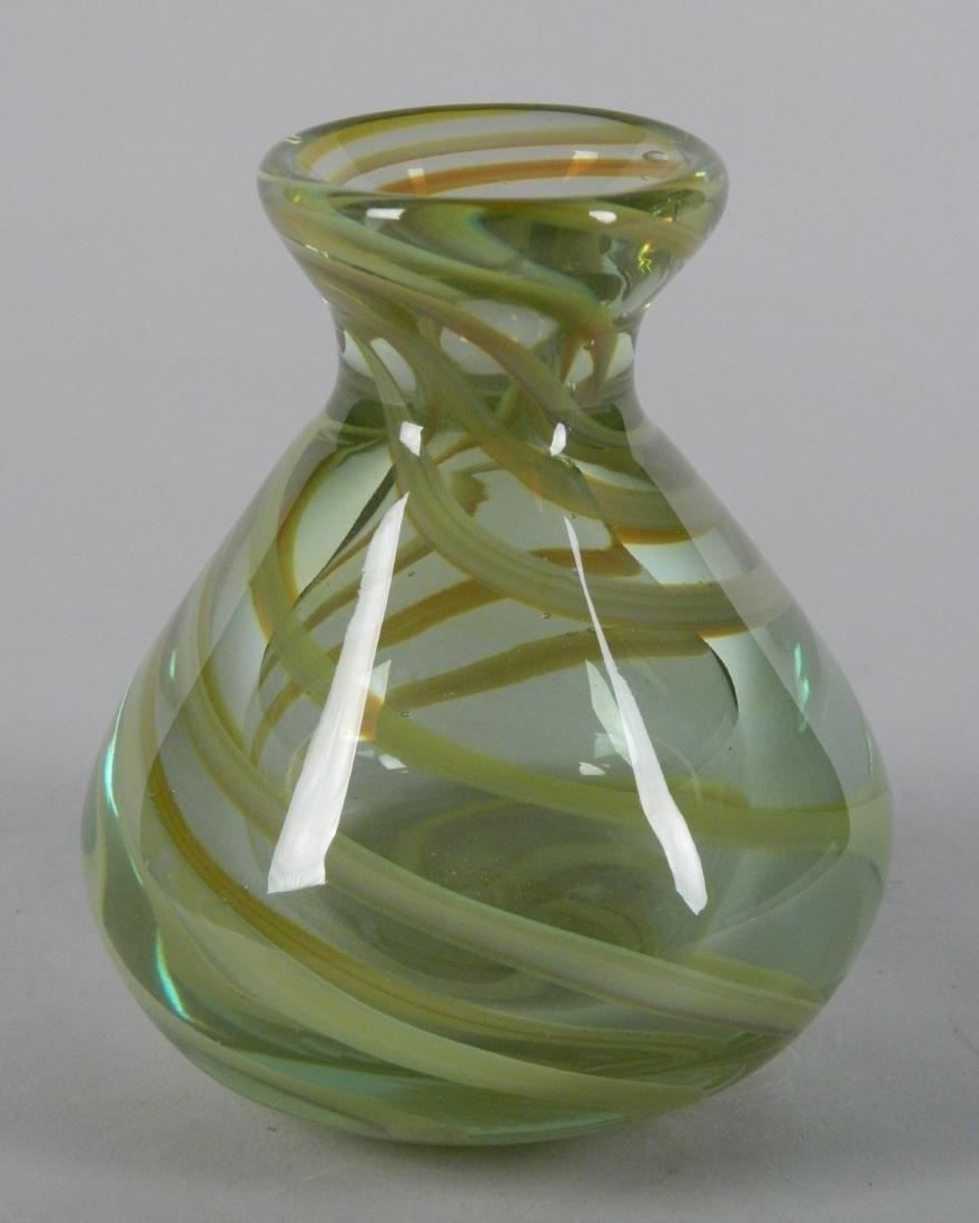 Dominick Labino glass vase