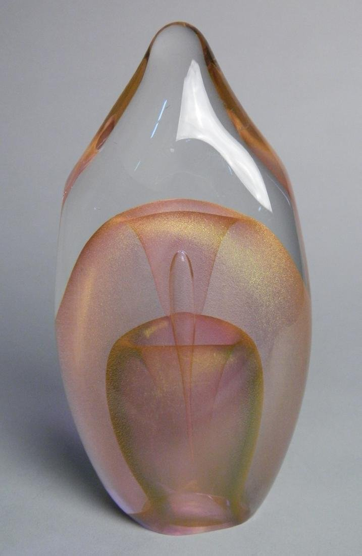Dominick Labino glass sculpture