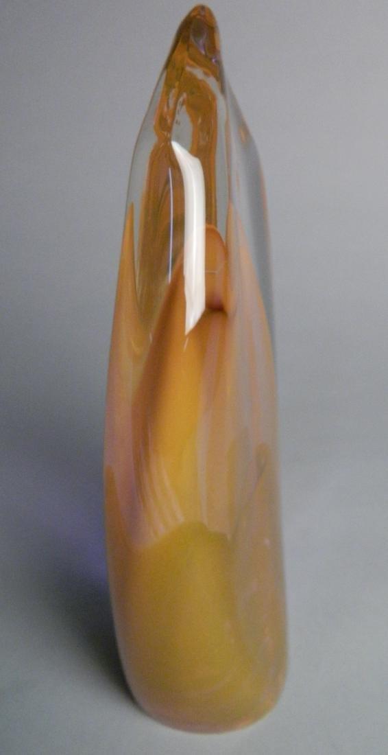 Dominick Labino glass sculpture - 3