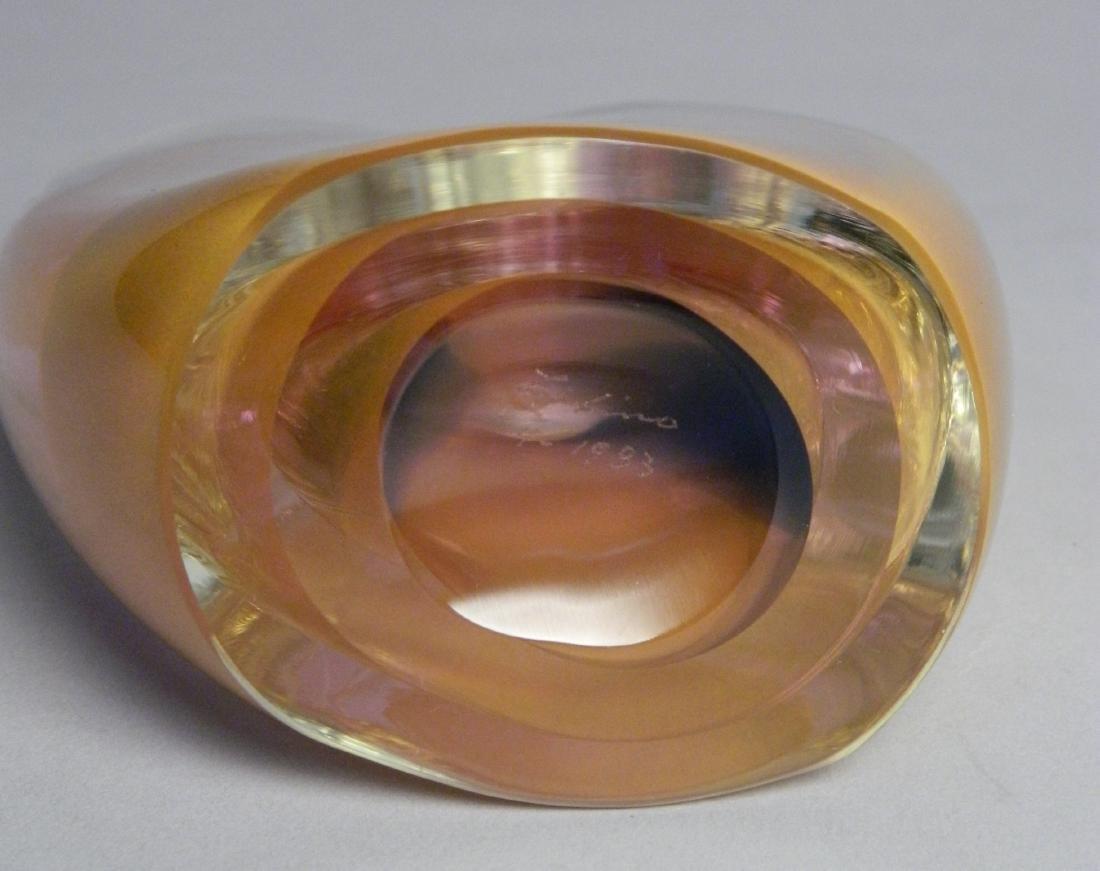 Dominick Labino glass sculpture - 5