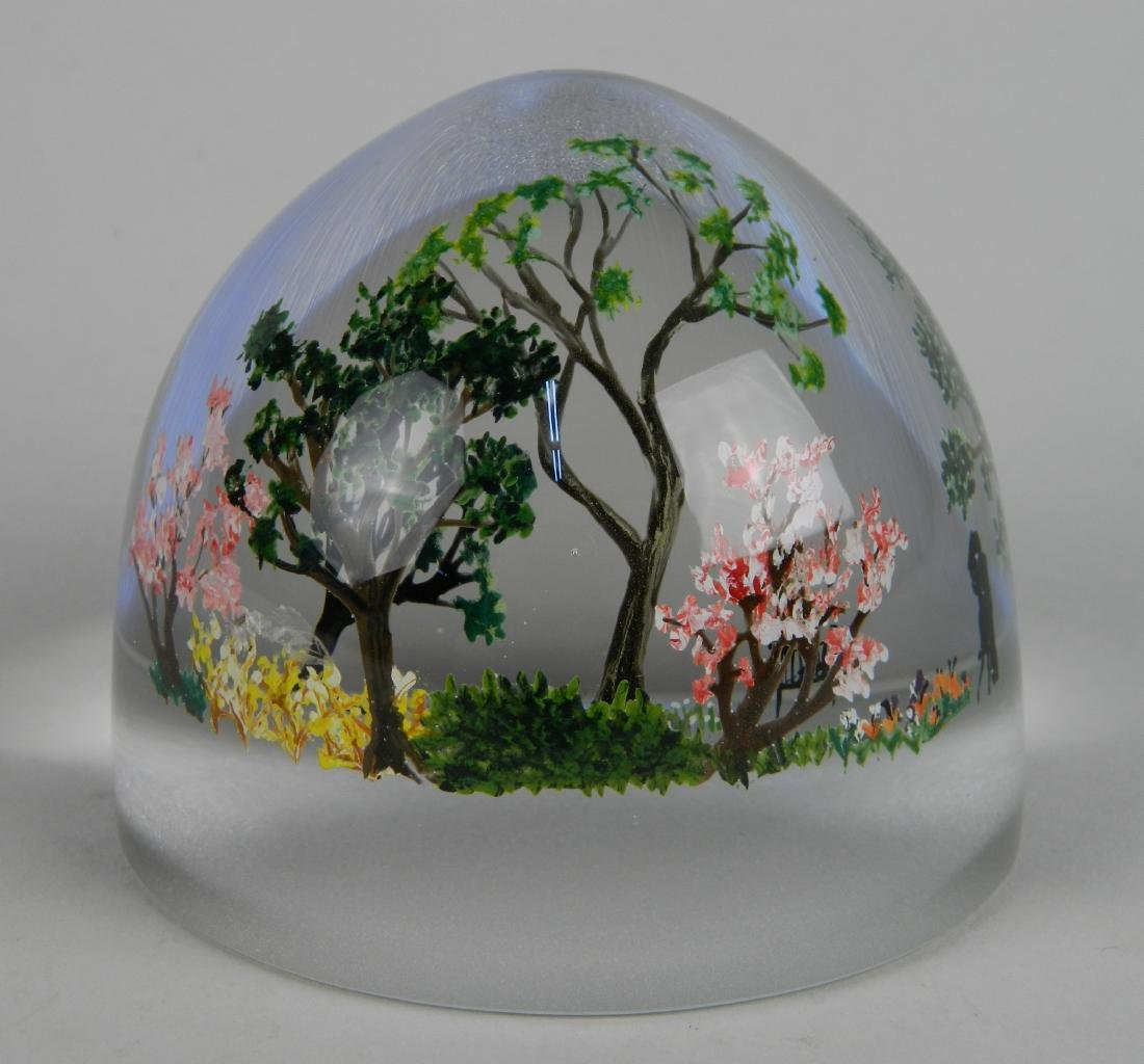 Alison Ruzsa glass paperweight
