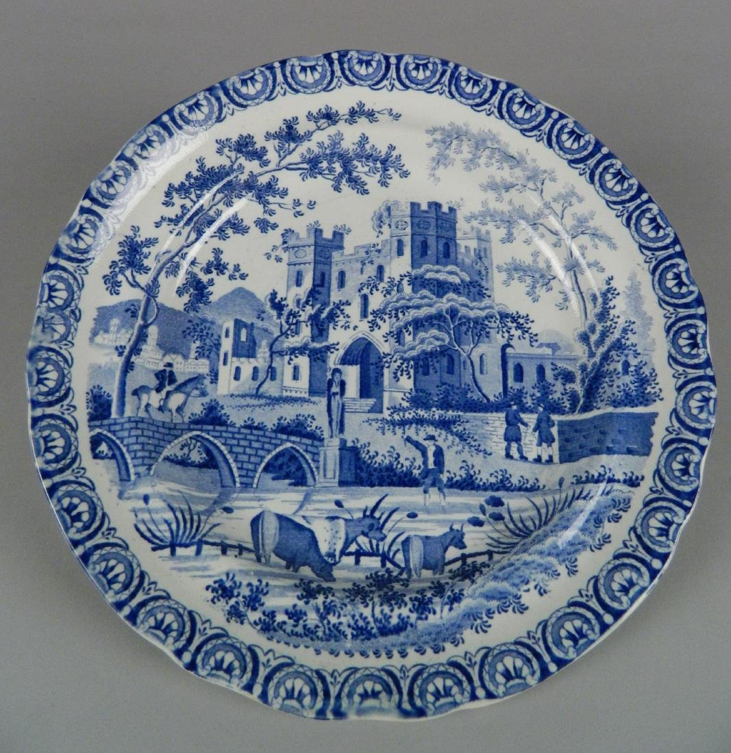 4 British Transfer china plates - 3