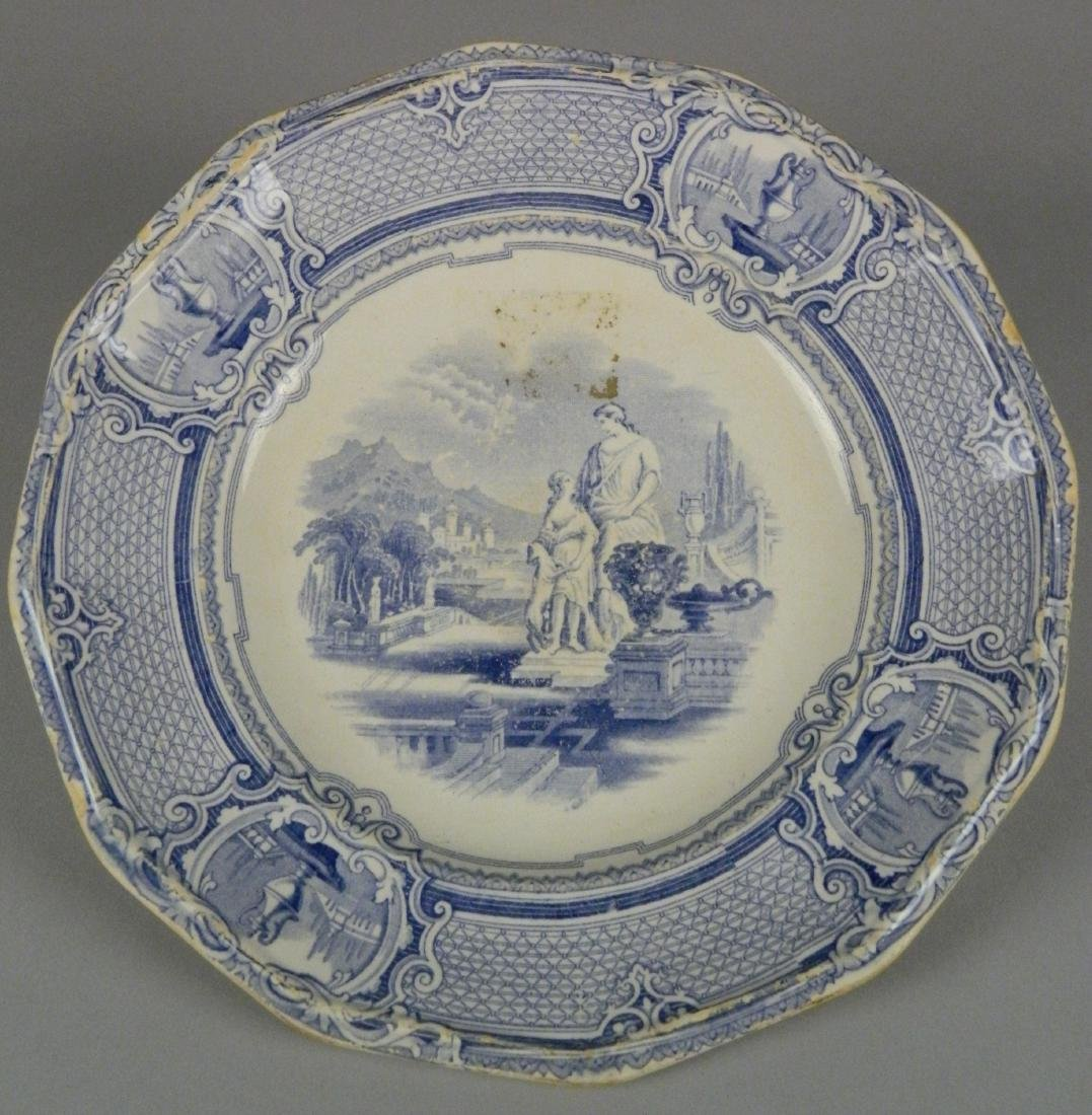 4 British Transfer china plates - 5