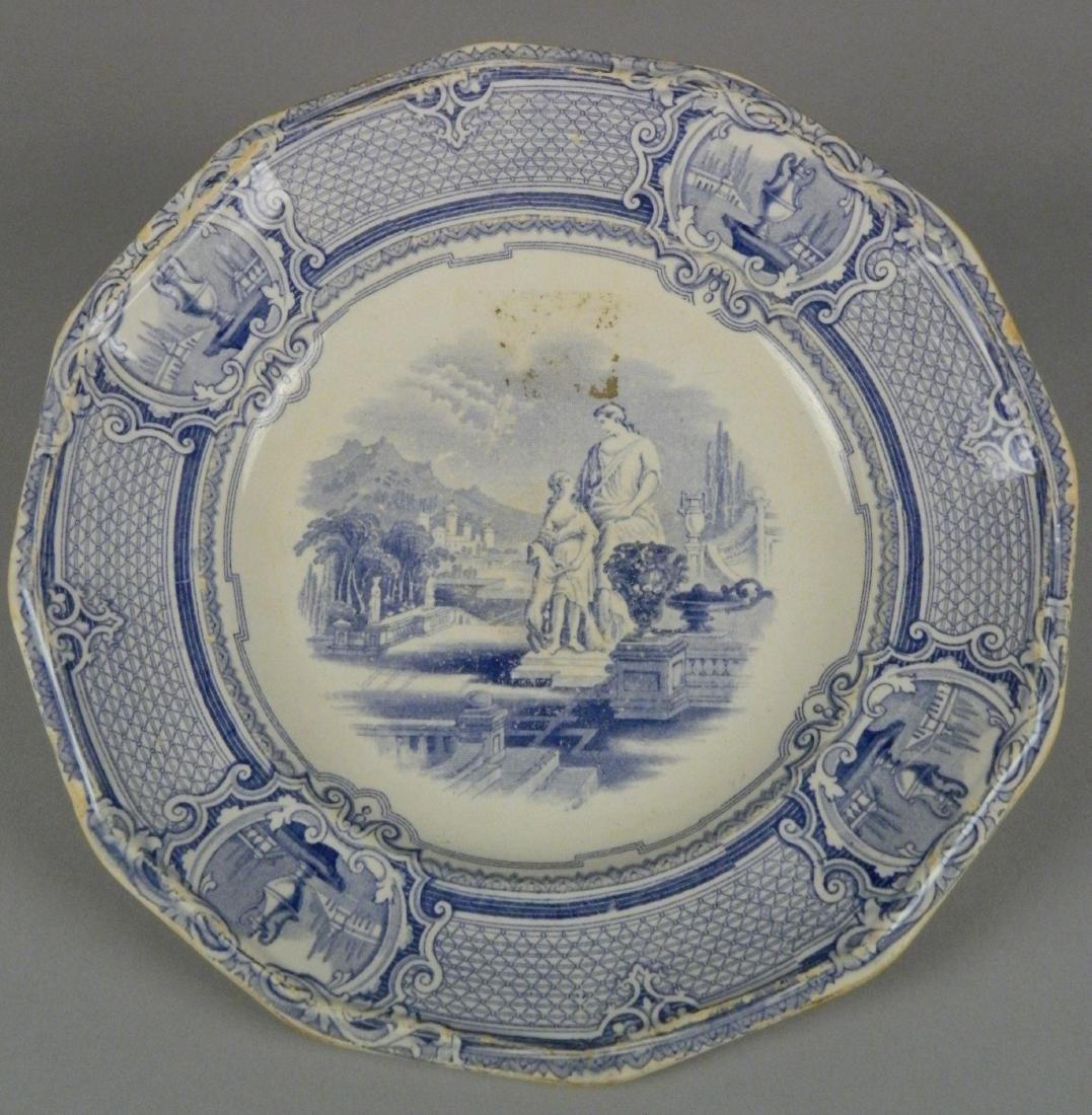 4 British Transfer china plates - 5