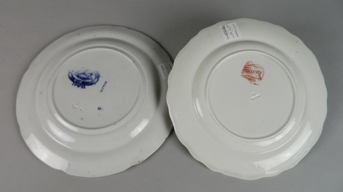 4 British Transfer china plates - 6