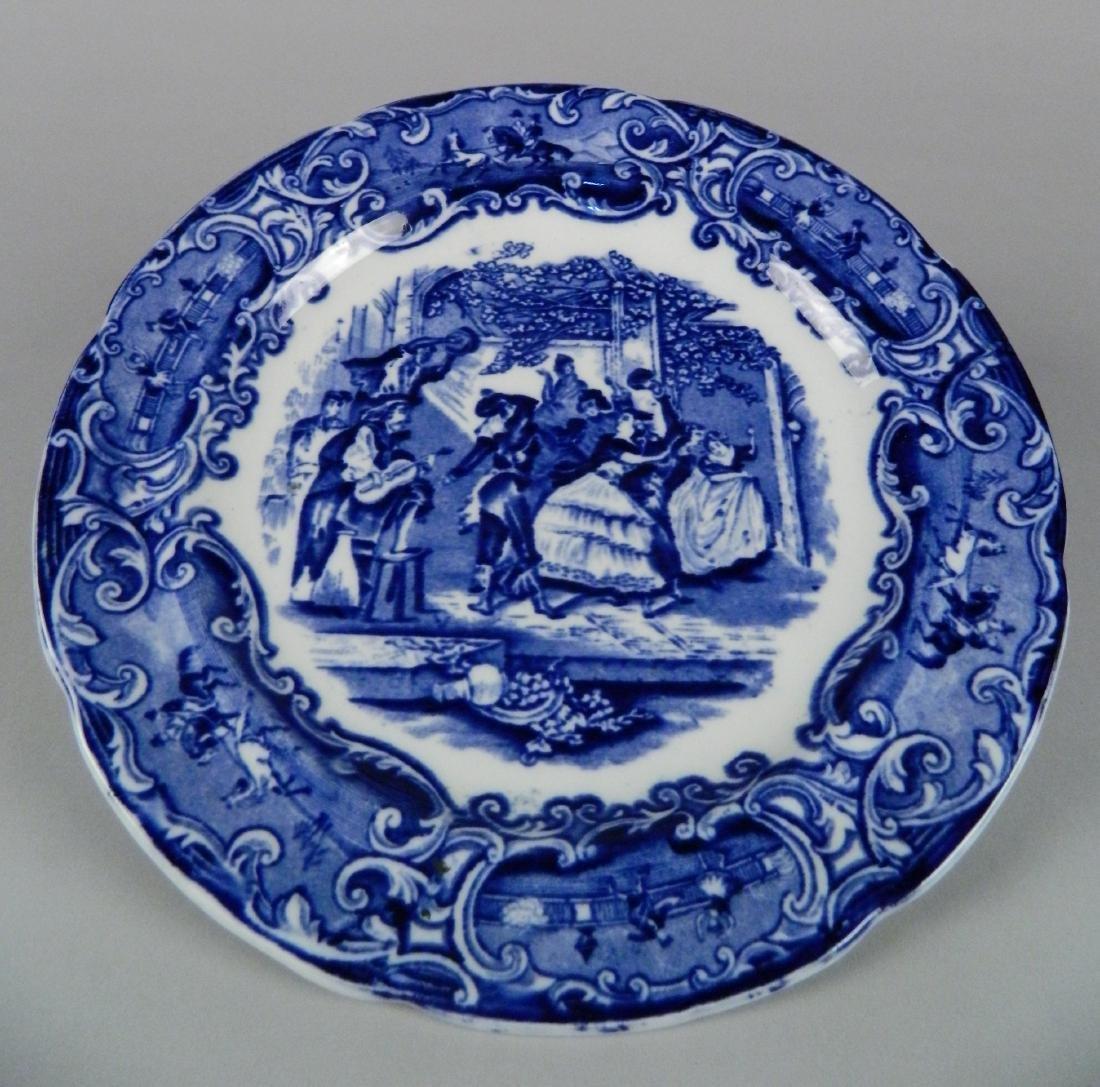 4 British Transfer china plates - 7