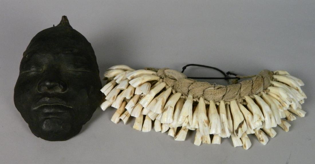 African teeth necklace