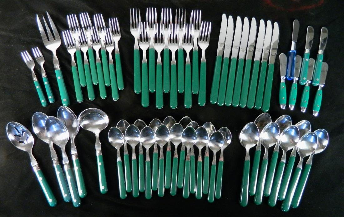 Reed and Barton stainless flatware set