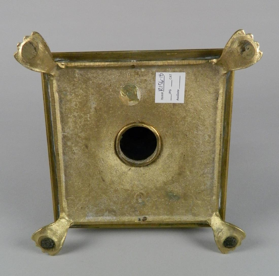 Traditional brass candle holder - 3