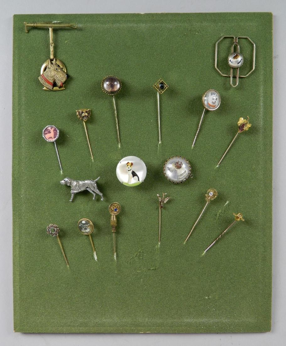 Lot of 12 stick pins