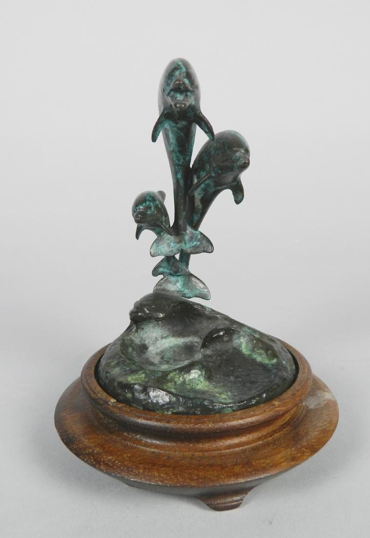 James Bottoms bronze sculpture
