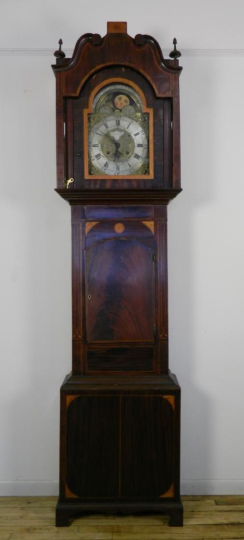 Lassel Park long case clock