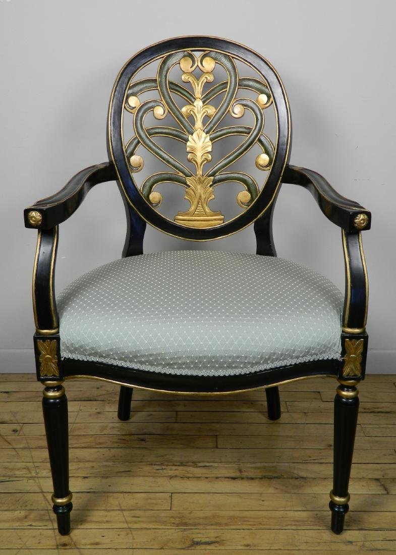 18th c. style arm chair