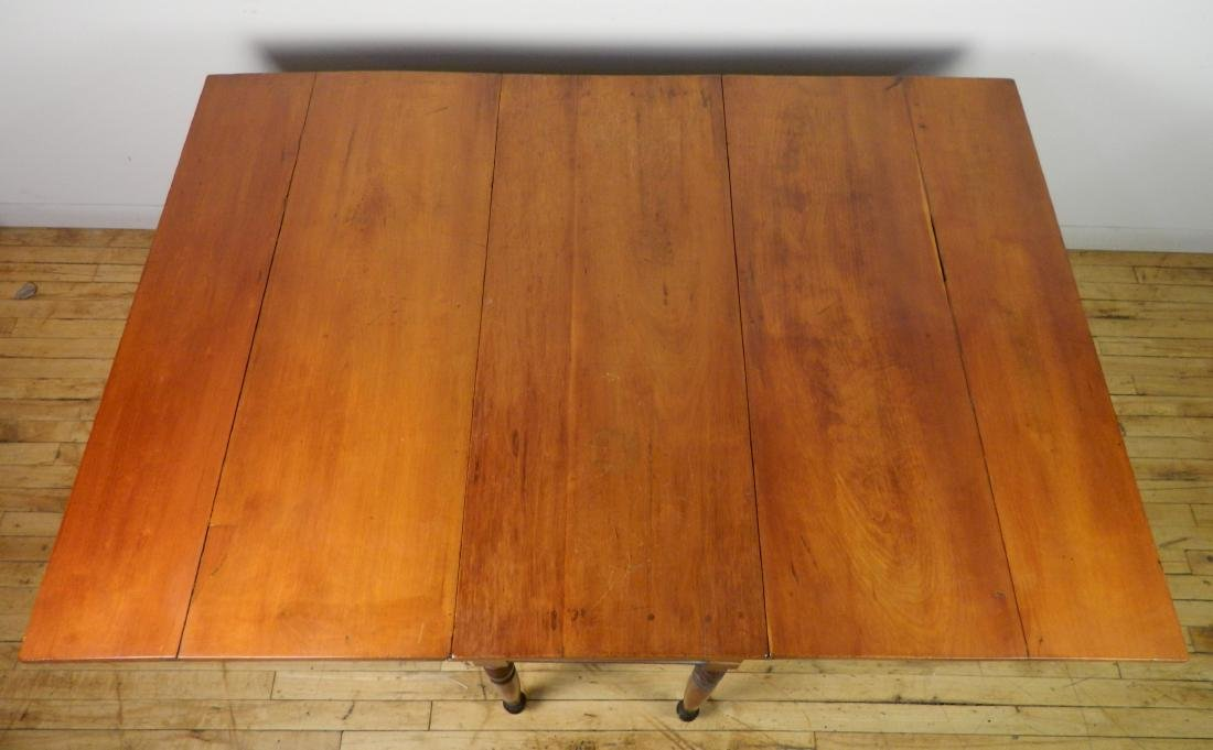 Drop leaf Pembroke table - 3