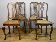 Set of 4 Italian Provincial side chairs
