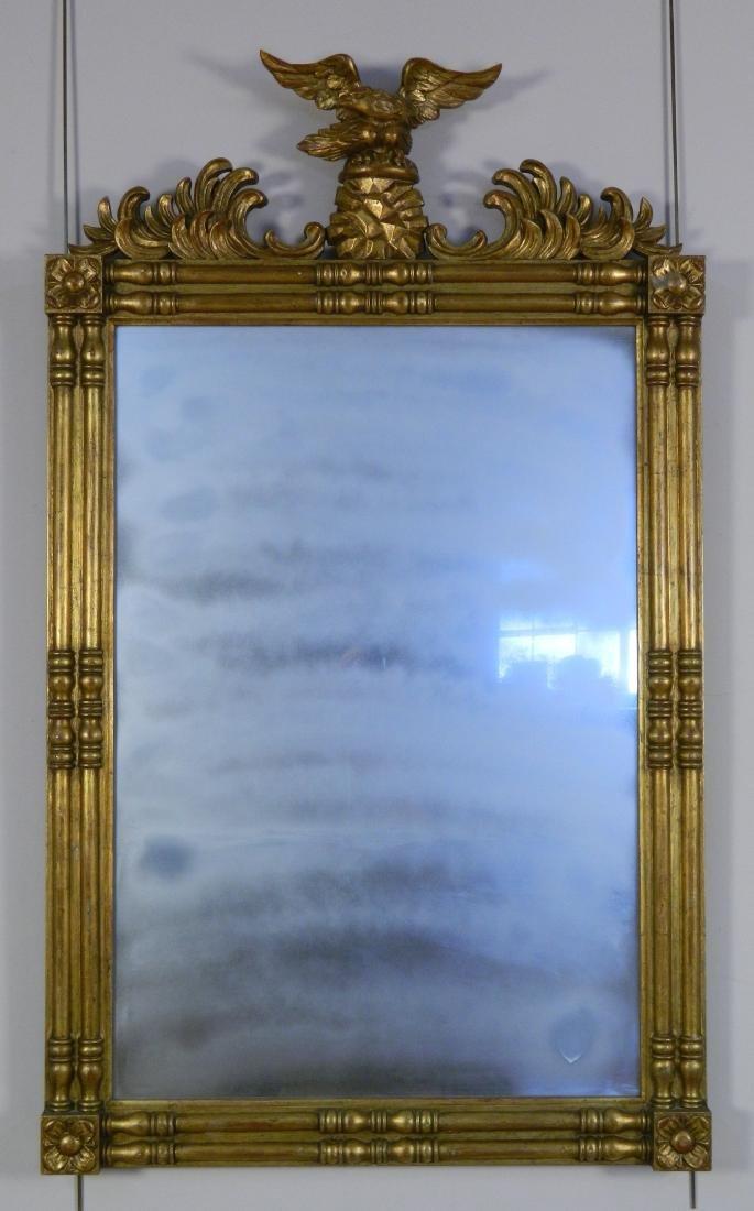 Federal style gilt wood mirror