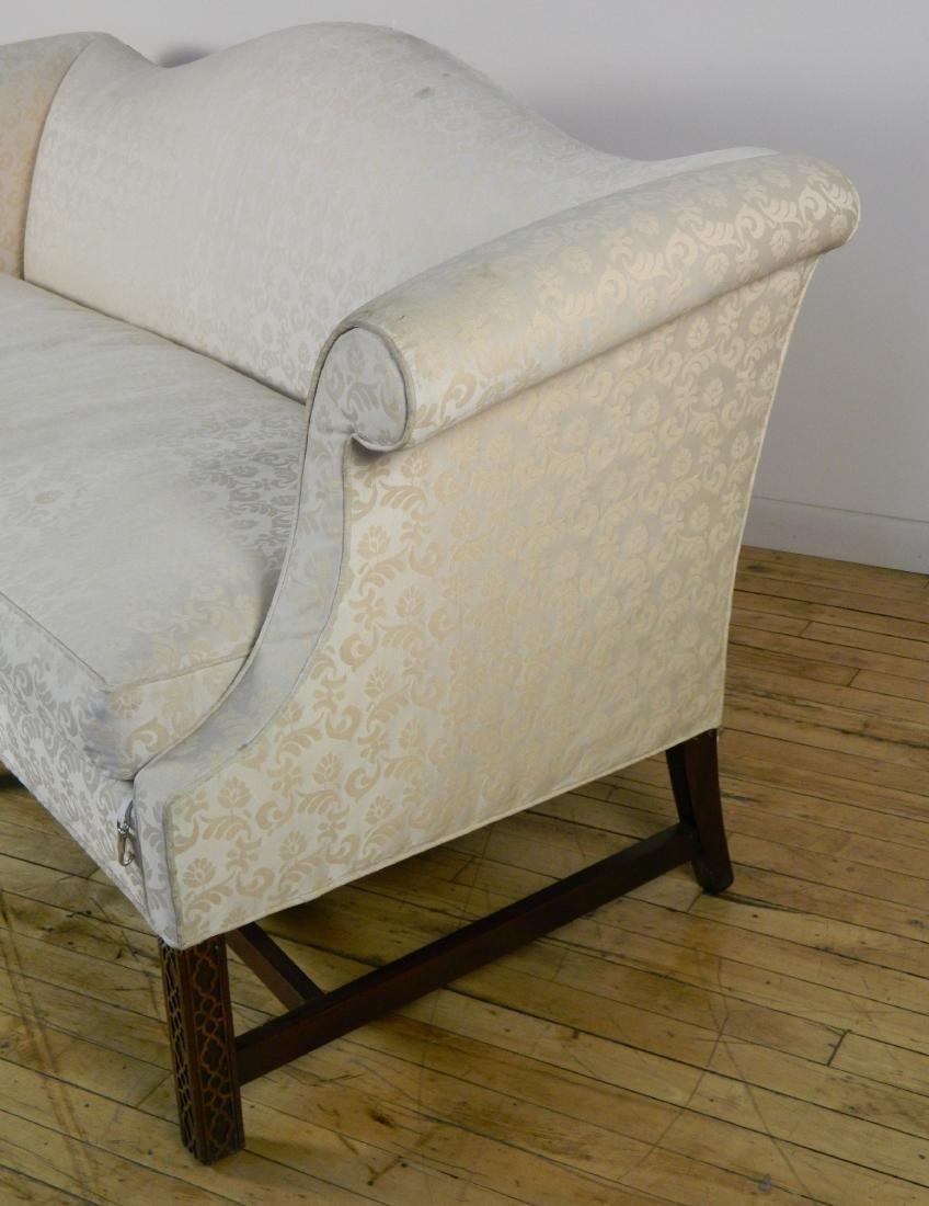 Camel back sofa - 3