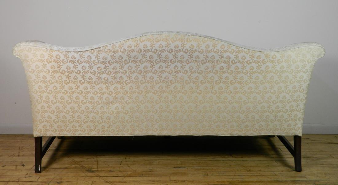 Camel back sofa - 5